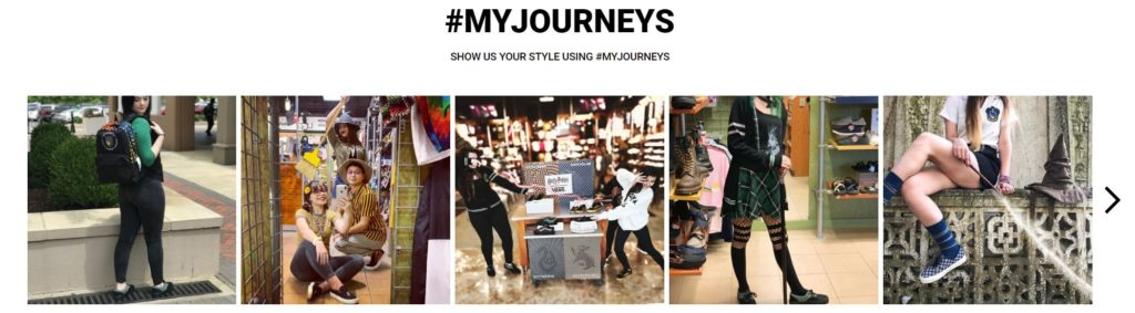 #MyJourneys social posts