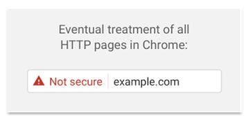 Google Chrome HTTPS Warning
