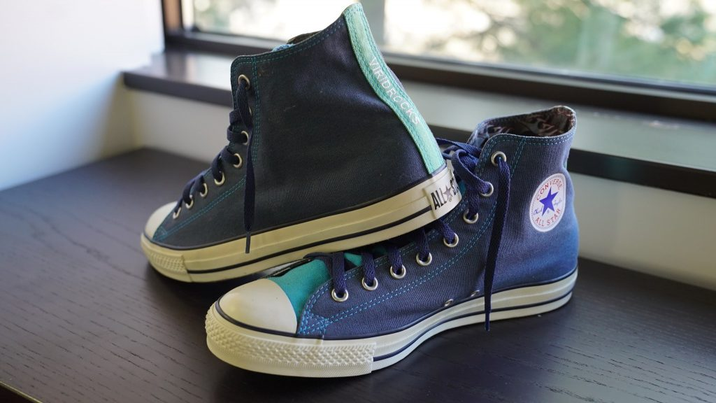 Custom made Virid Rocks Converse All-Stars